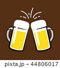 ビール ベクター お酒のイラスト 44806017