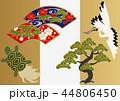 鶴 亀 松のイラスト 44806450