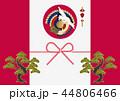 鶴 亀 松のイラスト 44806466