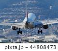 航空機 着陸 飛行機の写真 44808473