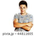 あでやか 男 白背景の写真 44811605