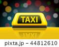 タクシー 空車 標識のイラスト 44812610