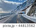 道路 ノルウェー 北欧の写真 44813562