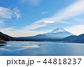 富士山 青空 冬の写真 44818237