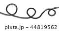 ケーブル 綱 スパイラルのイラスト 44819562
