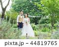 ウェディング ウエディング 結婚の写真 44819765