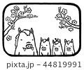年賀素材01 44819991
