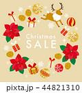 クリスマスリース クリスマス リースのイラスト 44821310