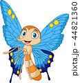 バグ 昆虫 チョウのイラスト 44821360