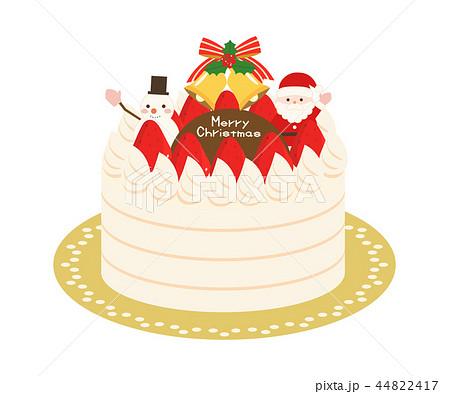 クリスマス素材3 ケーキ 44822417