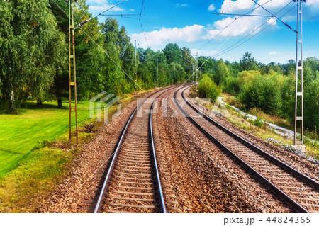Railway tracks 44824365