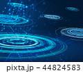 テクノロジー ネットワーク 背景のイラスト 44824583