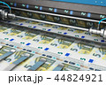 Printing 5 Euro money banknotes 44824921