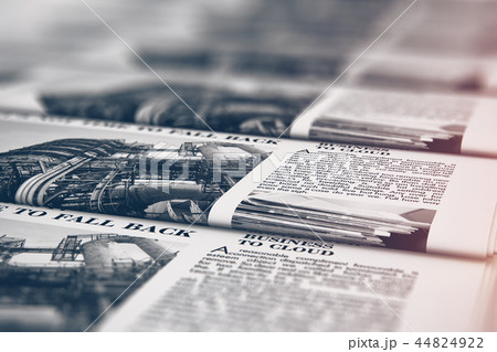 Printing newspapers in typography 44824922