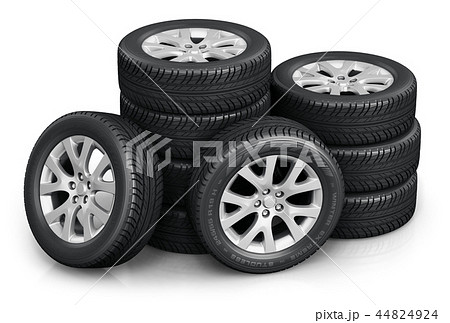Set of car wheels 44824924