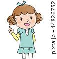 少女 子供 女の子のイラスト 44826752
