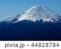 富士山 冠雪 山頂の写真 44828784