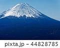 富士山 冠雪 山頂の写真 44828785