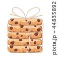 チョコチップクッキー クッキー 食べ物のイラスト 44835892