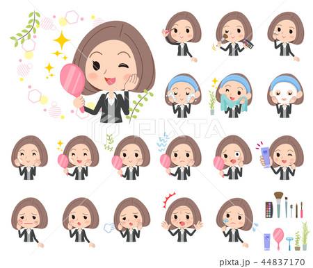 Black jacket pants business woman_beauty 44837170
