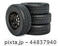 タイヤ 立体 3Dのイラスト 44837940