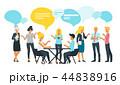 ネットワーク 通信 マンガのイラスト 44838916