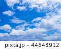 青空 雲 空の写真 44843912