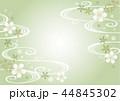 薄い緑の和柄横 44845302