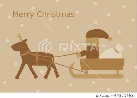 クリスマスカード 44851468