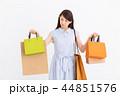 買い物 ショッピング ショッピングバッグの写真 44851576
