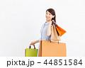 買い物 ショッピング ショッピングバッグの写真 44851584