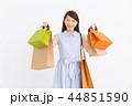 買い物 ショッピング ショッピングバッグの写真 44851590