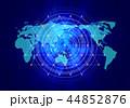 グローバル 世界地図 世界のイラスト 44852876