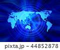 グローバル 世界地図 世界のイラスト 44852878