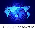 グローバル 世界地図 世界のイラスト 44852912