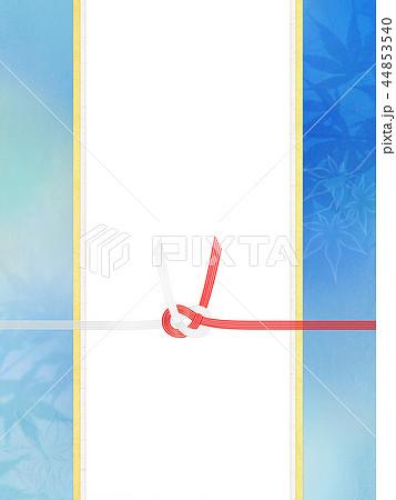 和-和柄-和風-背景-金箔-のし紙-水引-ご祝儀袋-夏-紅葉 44853540