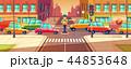 都市 トラフィック 交通のイラスト 44853648