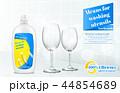 皿 宣伝 広告のイラスト 44854689