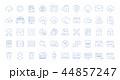 アイコン セット 組み合わせのイラスト 44857247