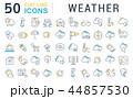 天気 気象 天候のイラスト 44857530