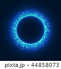 ネオン 抽象的 アミメのイラスト 44858073