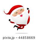 Happy Christmas character Santa claus cartoon 016 44858669