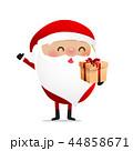 Happy Christmas character Santa claus cartoon 018 44858671