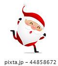 Happy Christmas character Santa claus cartoon 019 44858672