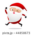 Happy Christmas character Santa claus cartoon 020 44858673