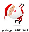 Happy Christmas character Santa claus cartoon 021 44858674