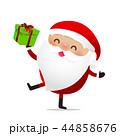 Happy Christmas character Santa claus cartoon 023 44858676