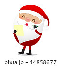 Happy Christmas character Santa claus cartoon 024 44858677