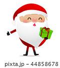 Happy Christmas character Santa claus cartoon 025 44858678