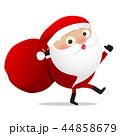 Happy Christmas character Santa claus cartoon 026 44858679